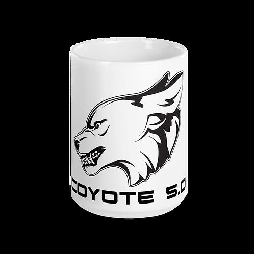 Growling Coyote Coffee Mug