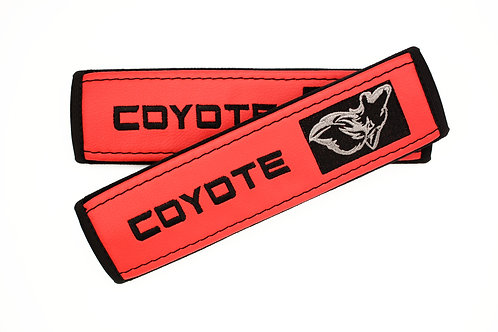 Coyote Seat Belt Covers - Set of 2