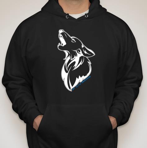 Coyote Big Logo Hoodie - Black