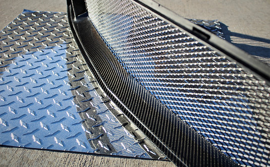 Carbon Fiber Grille Set - Upper and Lower
