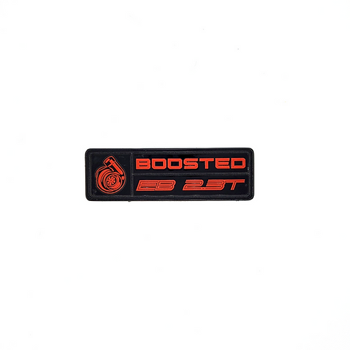 Boosted Dash Plaque
