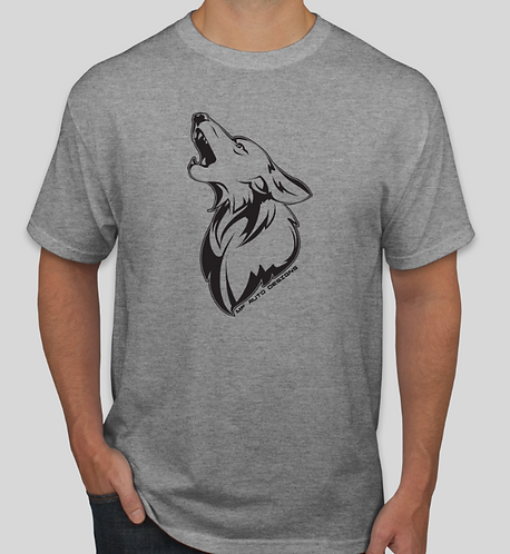 Coyote Big Logo T-Shirt - Grey