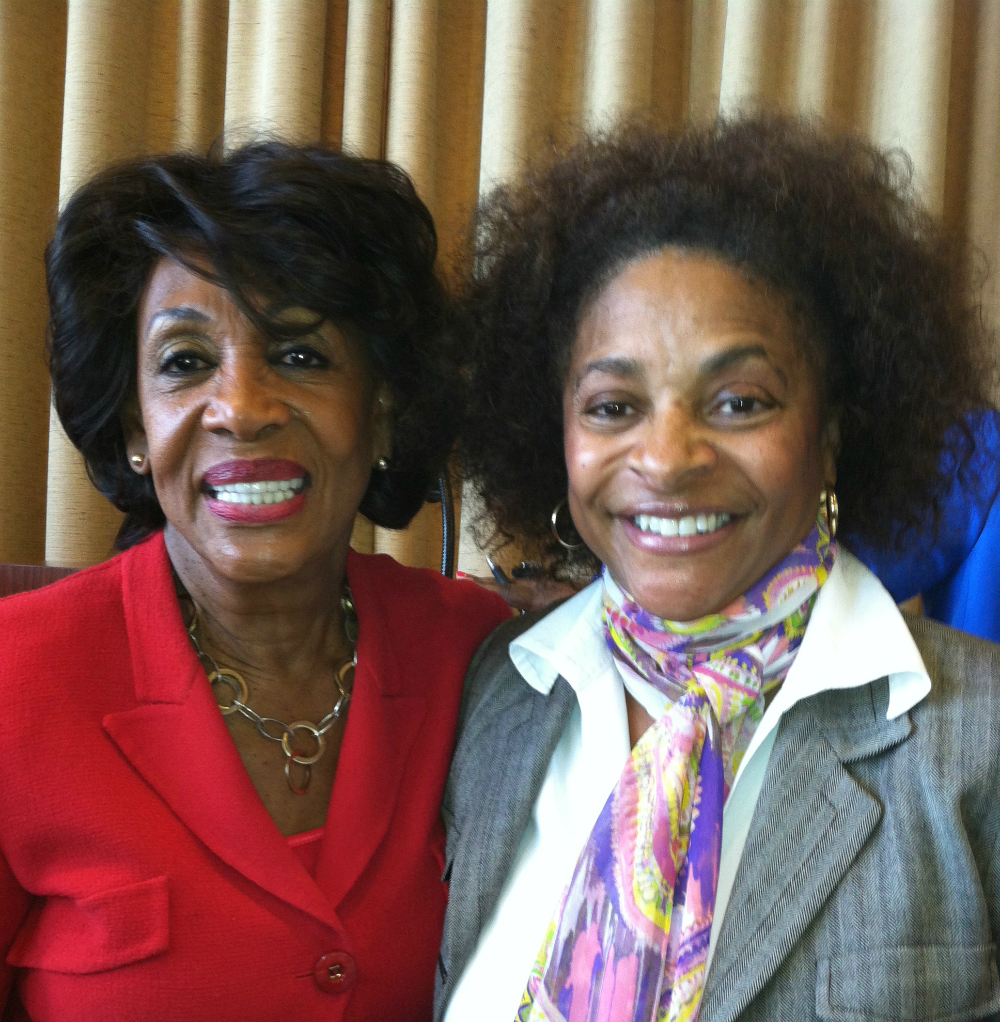 Giselle w/ Maxine Waters