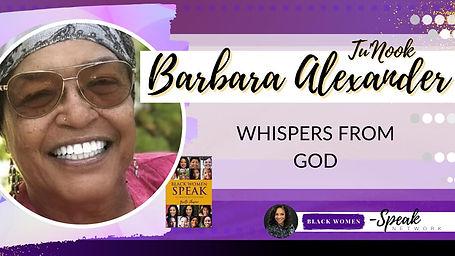 BarbaraAlexanderkBlackWomenSpeakNetwork.