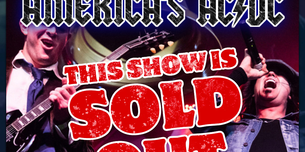 SOLD OUT: AC/DC Tribute - Thunderstruck