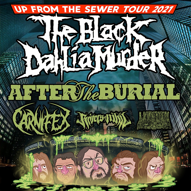 The Black Dahlia Murder : Up From the Sewer Tour