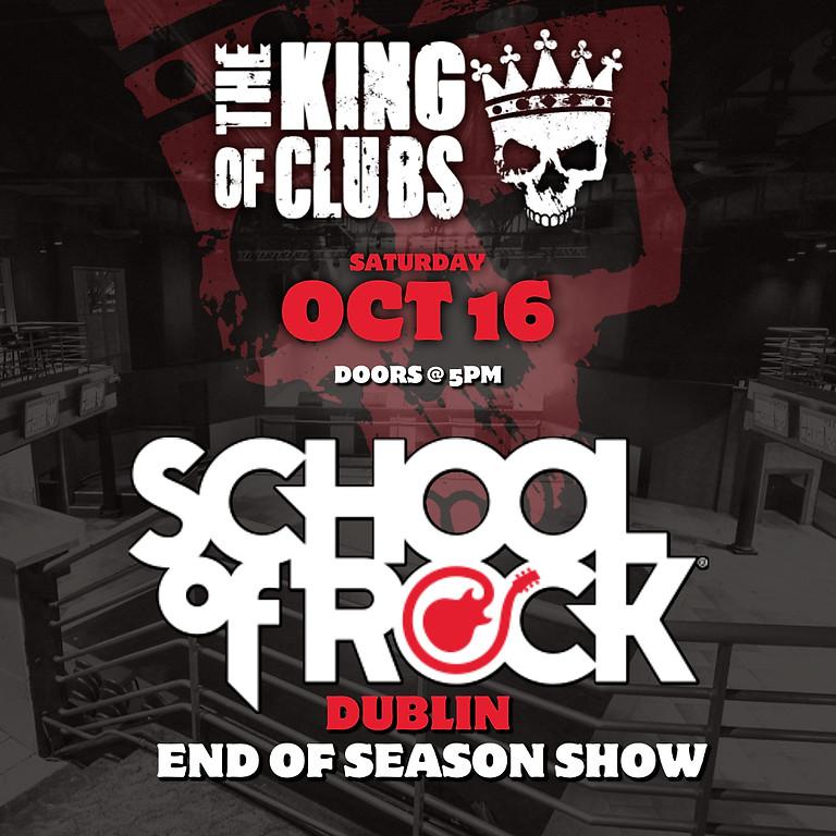 School of Rock (Dublin) End of Season Show