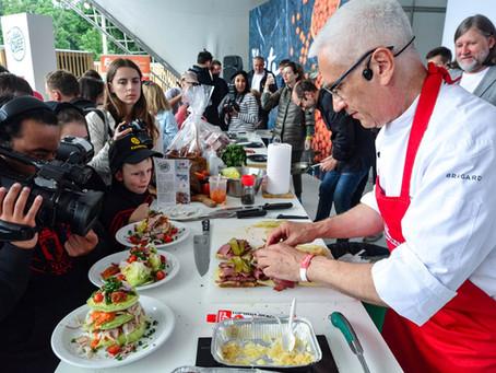 IX Фестиваль «Вкус Москвы» пройдет в Санкт-Петербурге 10-12 сентября 2021 года!