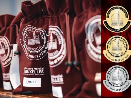 Золото и серебро Château Le Grand Vostock на Concours Mondial de Bruxelles!