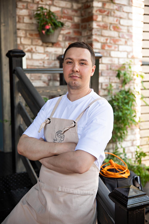 Шеф-повар Unico - Евгений Осокин.
