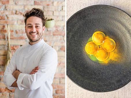 Valerio Serino (Tèrra). Bottoni с карамелизированным луком и маскарпоне в картофельном бульоне.