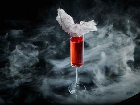 Коктейли с вином: Pink French (ресторан Sixty)