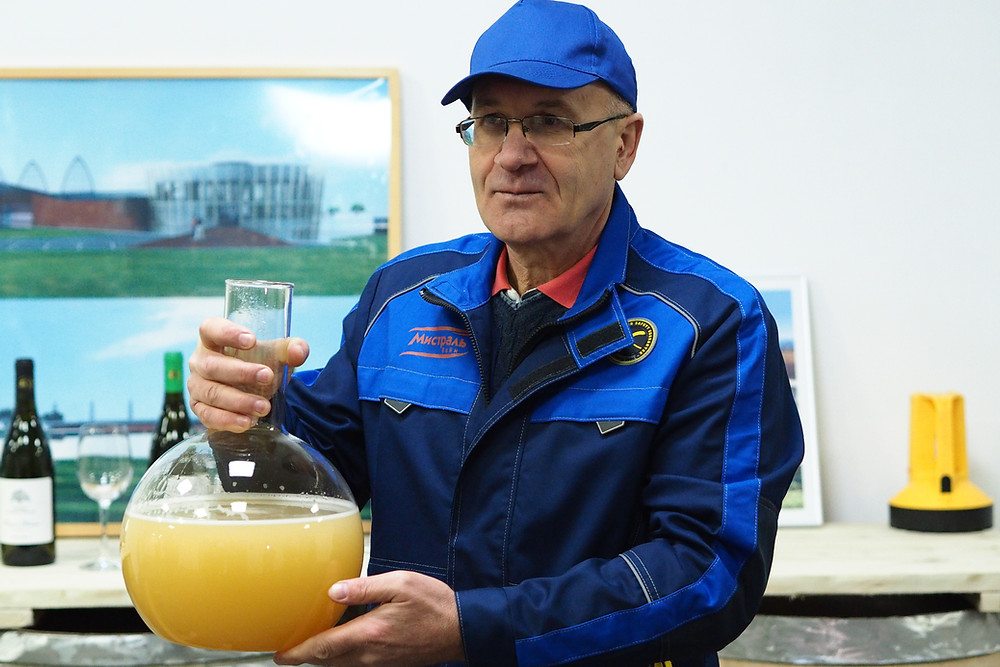 Анатолий Патраш, главный винодел Шато ле Гран Восток
