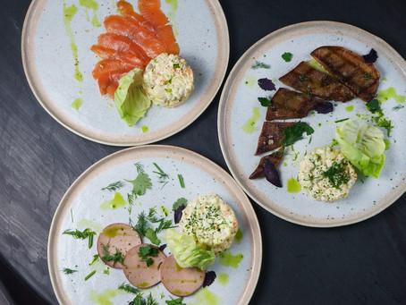 Оливье с говяжьим языком. Рецепт от шеф-повара Кафе Дружба. Мануфактура еды.
