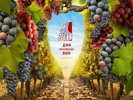 Весенний этап акции «Дни российских вин» стартовал!