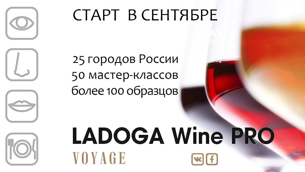Ladoga Wine Pro в сентябре