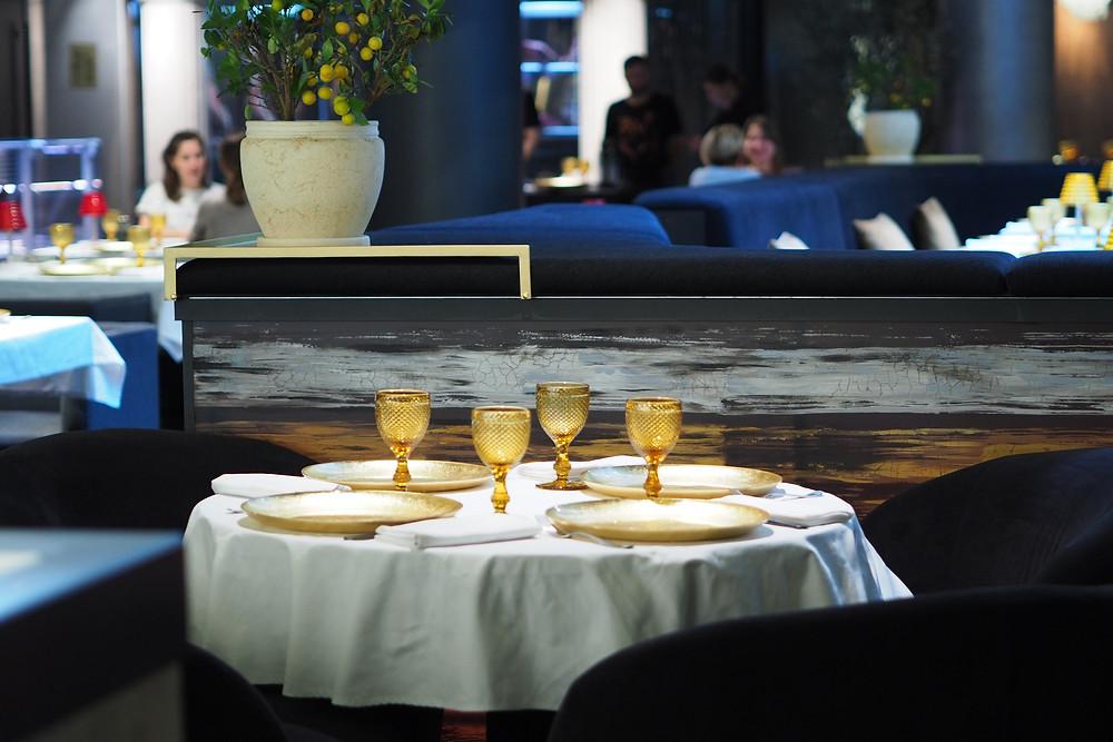 Интерьер ресторан Пифагор