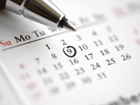 Календарь мероприятий. Октябрь 2018.