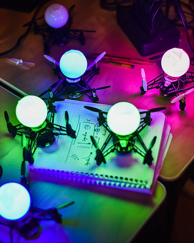 Drone Show setup