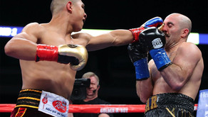 MUNGUIA SUCCESSFUL IN MIDDLEWEIGHT DEBUT, STOPS O'SULLIVAN IN 11