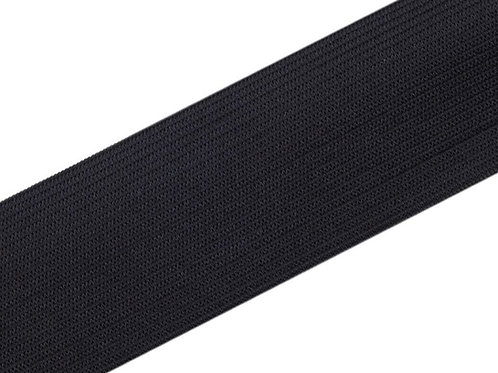 elastisches Gummiband 40mm, schwarz