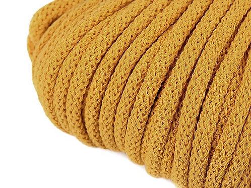 Kordel 5 mm senf-gelb