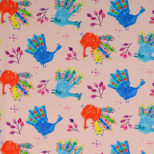 """Jersey von Kinderhand """"zartrosa"""""""