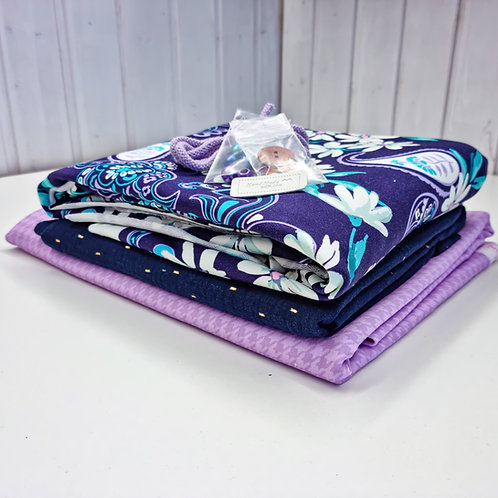 Stoffpaket Queen Daisy Admiralblau