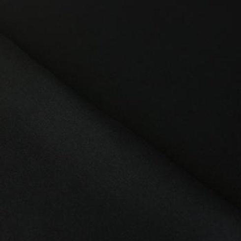 Bündchen Feinstrick schwarz
