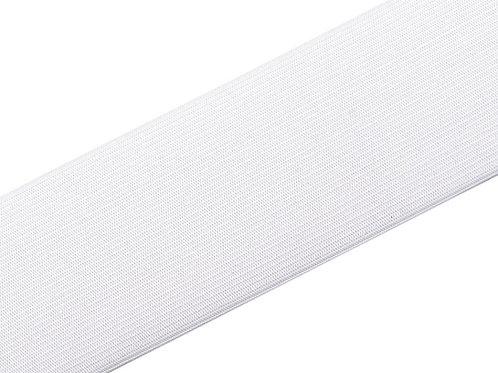 elastisches Gummiband 40mm, weiß