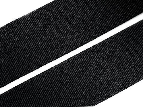elastisches Gummiband 20mm, schwarz