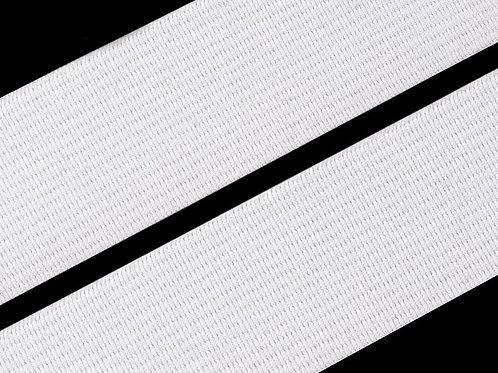 elastisches Gummiband 20mm, weiß
