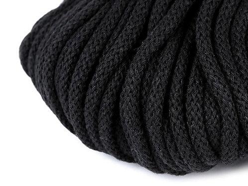 Kordel 5 mm schwarz