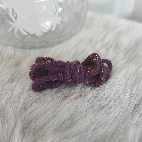 Premiumkordel 5mm violet-gold