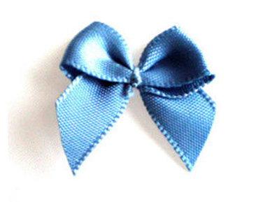 Schleife, antik blau