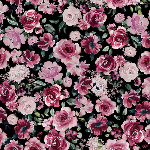 BIO Soft Flower Garden - schwarz