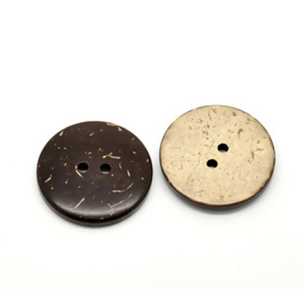 Kokosknopf 15 mm