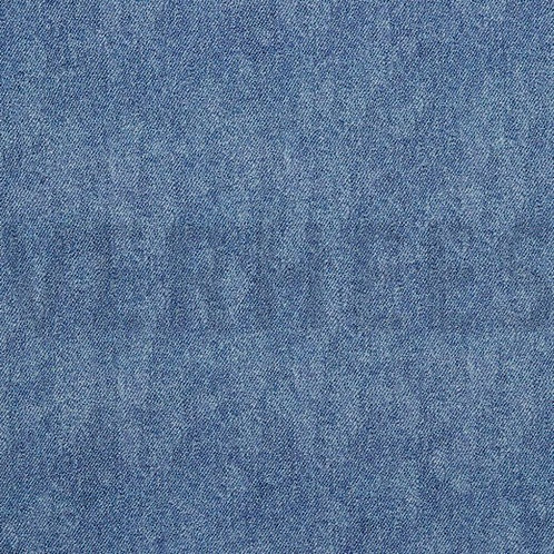 BIO French Terry Looks like Jeans light blue