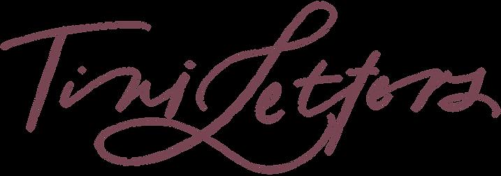 Tiniletters Calligraphie