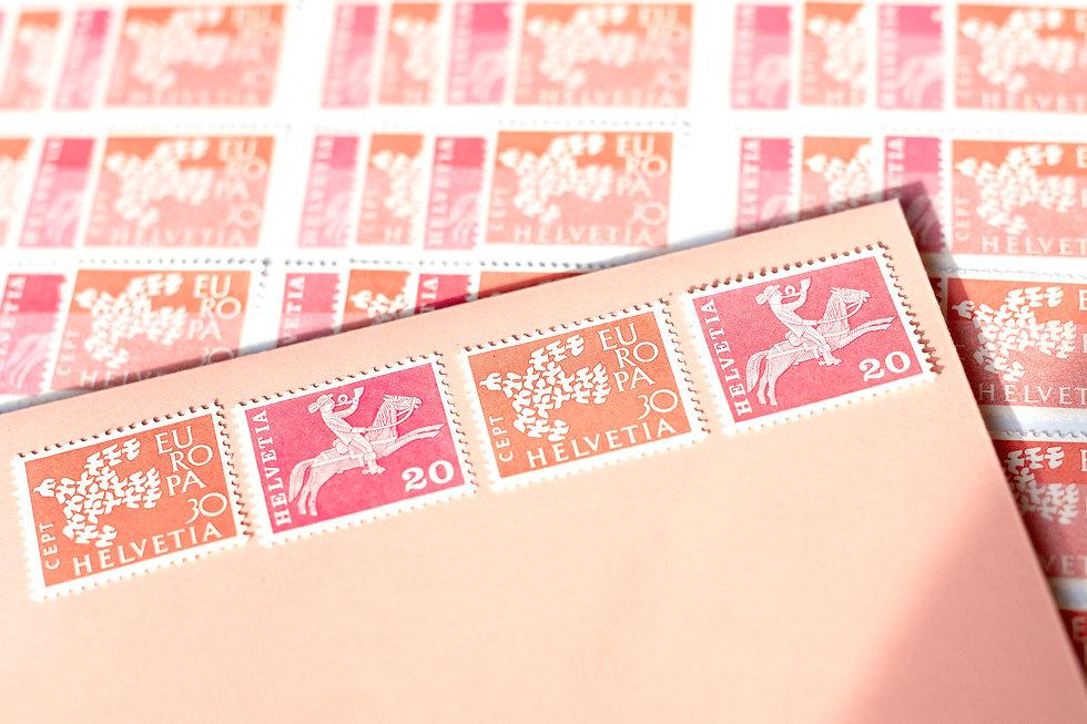 Letterpress hochzeitskarte, Gestaltungs und Druckatelier Ink on Paper, Schweiz
