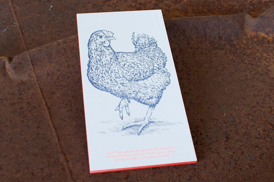 Eventcards in Letterpress