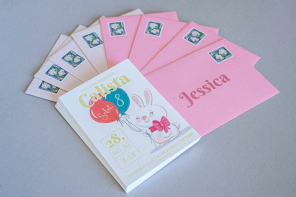 Schweizer Letterpress, Geburtstagskarte, Gestaltungs- und Druckatelier Ink on Paper, Schweiz