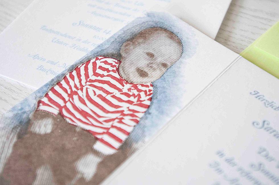 Letterpress taufkarte, gestaltungs- und druckatelier ink on paper, schweiz paper, birthday card, geburtstagskarte