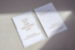 Letterpress Business Cards, Graphic Design and Printing Studio Located in Yverdon-les-Bains, Switzerland