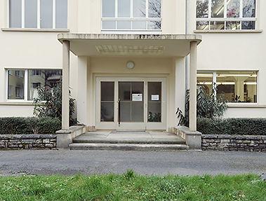 kani Handbuchbinderei - K&B Letterpress - Haupteingang Seite Strandweg zum Atelier