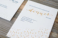Wedding Cards in Letterpress