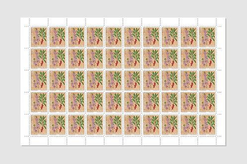 Seidelbast | Bogen von 50 | 15 RP | Lager: 1 Bogen