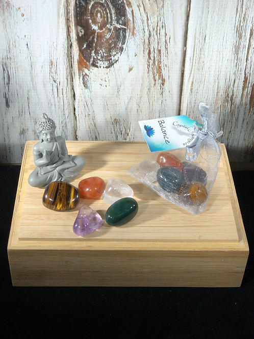 Balance Crystal Energy Support