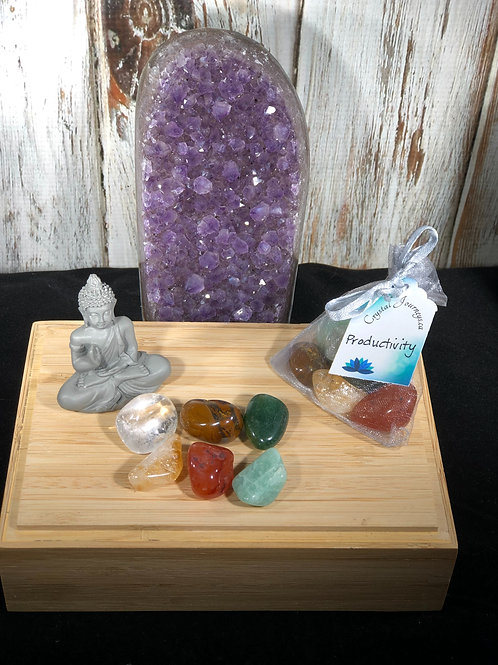 Productivity Crystal Energy Support