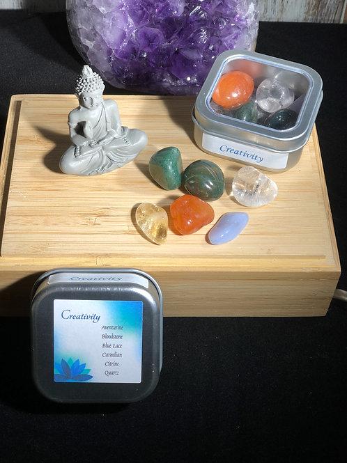 Creativity Crystal Healing Tin
